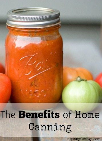 With the rising cost of food, everyone is looking for alternative ways to save money on healthy foods. One of my favorite things to do is home canning. Get started to learn How to can, what equipment you need, and a big list of common canning resources!  See the benefits of home food Canning and Preserving. #canning #perservingfood #homestead