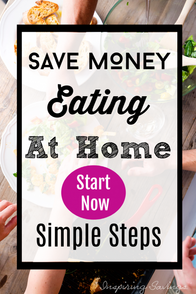 Saving Money eating at Home - simple tips image