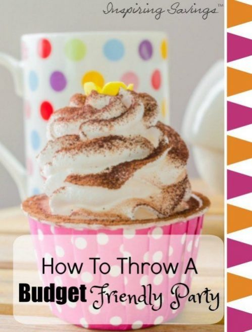 These tips are great and will save you so much money if you're planning a party anytime soon! Click through to find out how to plan effectively and throw a budget friendly party that people won't know didn't cost a fortune to host! These 10 frugal tips will help you save money and give you ideas on how to cut costs. #party #budget
