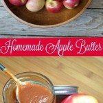 A simple recipe for Homemade Apple Butter that you can make in the slow cooker. Use as a spread a syrup or in your fall recipes