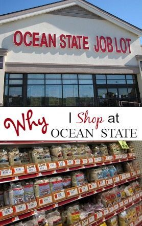 """Ocean State job lot store with text overlay """"Why I shop at Ocean State"""""""