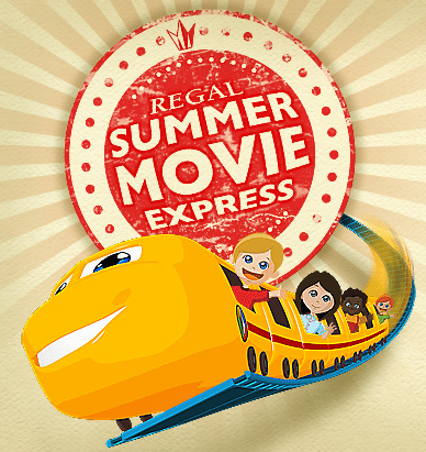 Regal Summer Movie Express Schedule 2018 - See $1 movies with the kids this summer! Regal movies play at 10am on Tuesdays and Wednesdays throughout the summer. #summer #movies #Regal #theater #kids