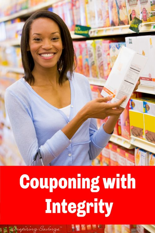 It's a pretty hot topic on couponing blogs. Learning how to coupon is easy. Couponing with integrity is another story. Learn how this works. Couponing the correct way.