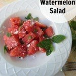 Delirious Watermelon Salad Refreshing and YUMMY