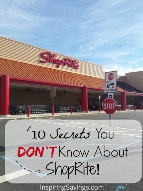 ShopRite stores makes shopping an easy and fun experience to grocery shop. Here are 10 secrets that you do not know about ShopRite. Including information about ShopRite digital coupons and ShopRite Coupon Policy.
