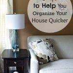 5 tips to help you organize your house quicker
