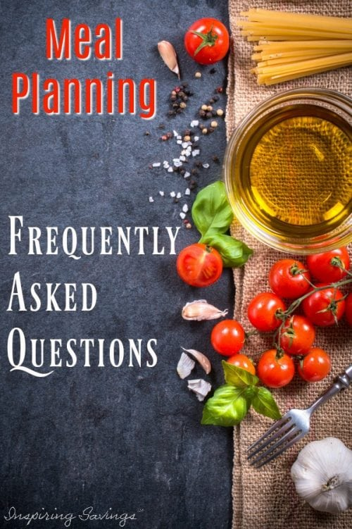 If you need to save money on your groceries, you need a meal plan. Over the years, meal planning has become a lot easier. However, I cover some of the most frequently asked questions about meal planning. Designed to help with the beginner in mind!