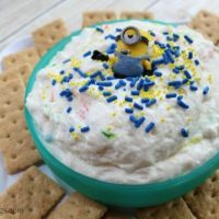 Funfetti Vanilla Graham Cracker Dip