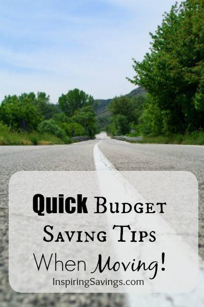 Read this simple and quick Budgeting tips to save money while moving