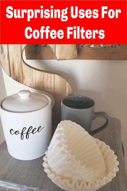 Coffee Filters are handy for so much more than just your morning brew. Their simple shape and lint-free design makes them helpful in lots of other ways. Think crafts ideas, cleaning project & much more.