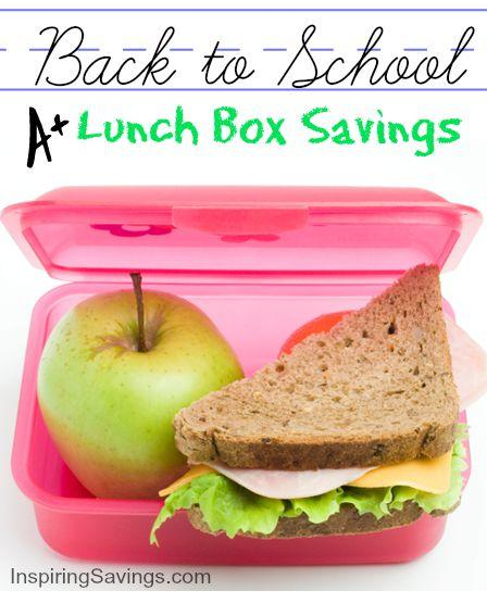 Get the most bang for your buck on school lunches. These money saving tips will help you off to a fresh start. View these healthier alternatives.