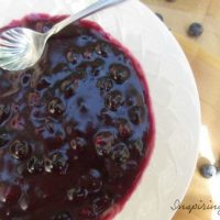 Fresh Blueberry Filling &  Frosting Recipe