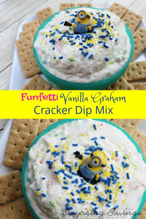 Easy Graham Cracker Dip With Vanilla Cake Mix
