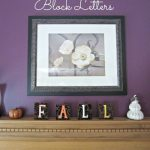 Fall altered Wood Blocks