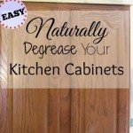 Miracle Decreaser and it is all Natural. Clean your kitchen cabinets quickly and easily. What are you waiting for1