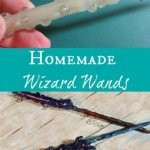 Heres the how to for this easy and realistic homemade wizard wands. This craft is not only perfect for your Halloween Costume but for dress up too.