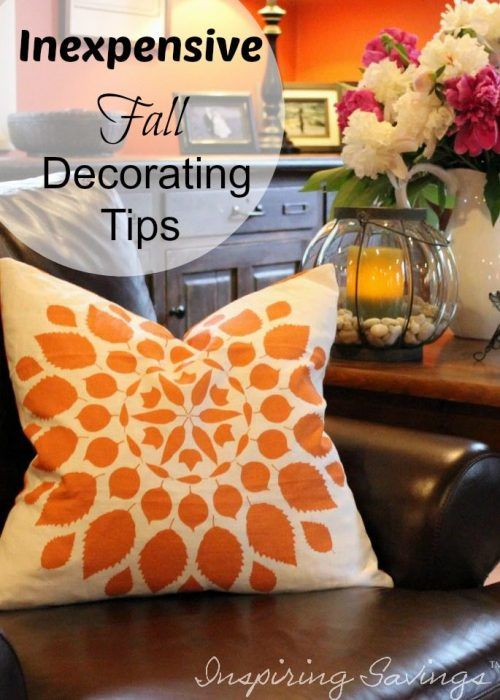 What does your home say about you? Interior decorating doesn't have to be an expensive process. With these Budget Saving tips, it can be fun & inexpensive! From simple, inexpensive ideas to decor tips and pumpkin collages we will show you all the ways you can transform your home into a fall wonderland!