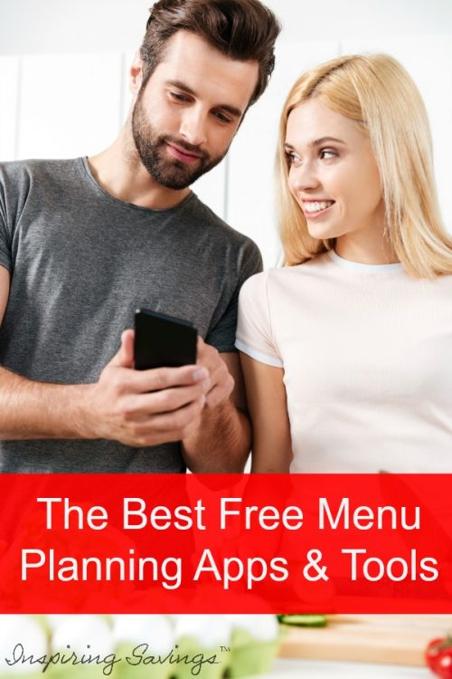 Get yourself organized in the kitchen. Make the most out of easy dinner prep and save money while utilizing meal planning apps. Here are the best free menu planning apps & tools. Make Your Life easier #mealplanning #mealprep #cleaneating