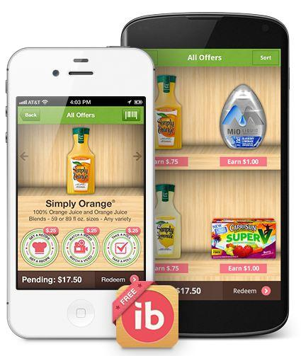 Ibotta Smartphone image - Money Saving Smart Phone App