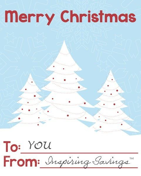 You don't need much to create something very merry and jolly that everyone will love. I wanted to share these simple Merry Christmas Mini printable cards.
