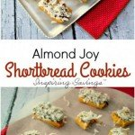 Easy and fun Christmas Cookie. Get ready for Almond Joy Shortbread Cookies. I just love t his website e1510589905215