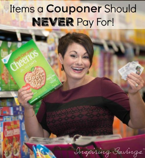 Read the secrets that couponers want to know must, What items will I never have to pay for after coupons. Search no more the secret is now yours. Check out this list of Items a couponer should never pay for!