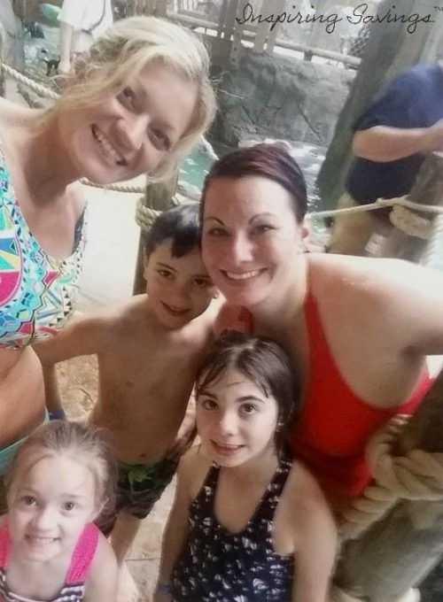 family time at Great Escape Lodge Lake George