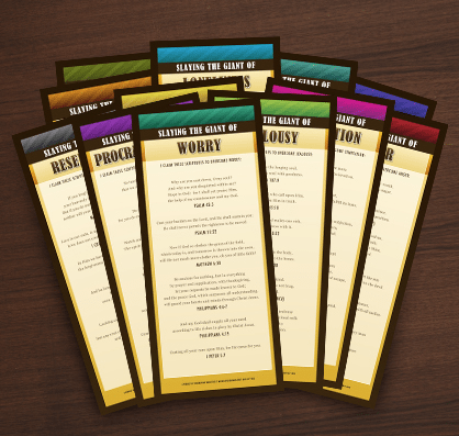 Bible Bookmarks offer