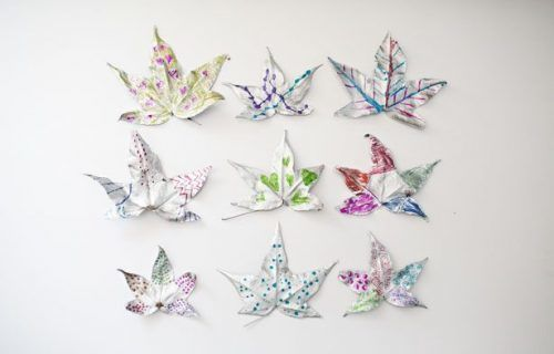 silver leaf art craft