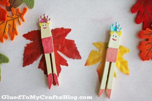 Clothespin Fairies craft