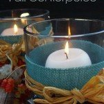 A beautiful homemade Fall centerpiece is the perfect way to celebrate the season and any DIYers dream. Make a beautiful fall centerpiece for your home.
