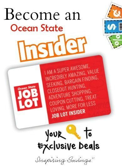 """Ocean State Insider Card - With Text overlay """" Become an Ocean State Insider"""""""