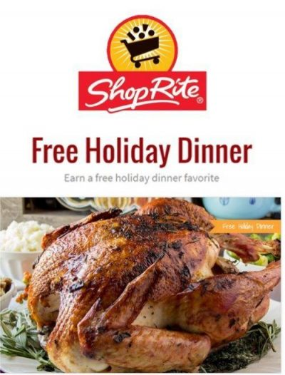 Shoprite Free Turkey Or Ham Holiday Promo