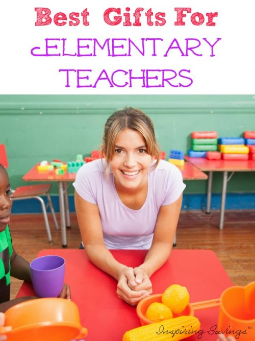 Are you struggling to find the perfect gift for your child's elementary teacher? Every year, students and parents wrap up well-meaning gifts for their favorite teachers. Look no further. I dug deep and research teachers to bring you this list.  Find the best gifts ideas for teachers on a budget #teachers #giftideas #gifts #budget