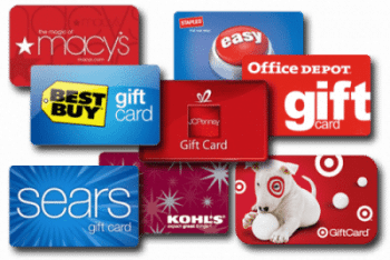 gift cards for teachers gifts