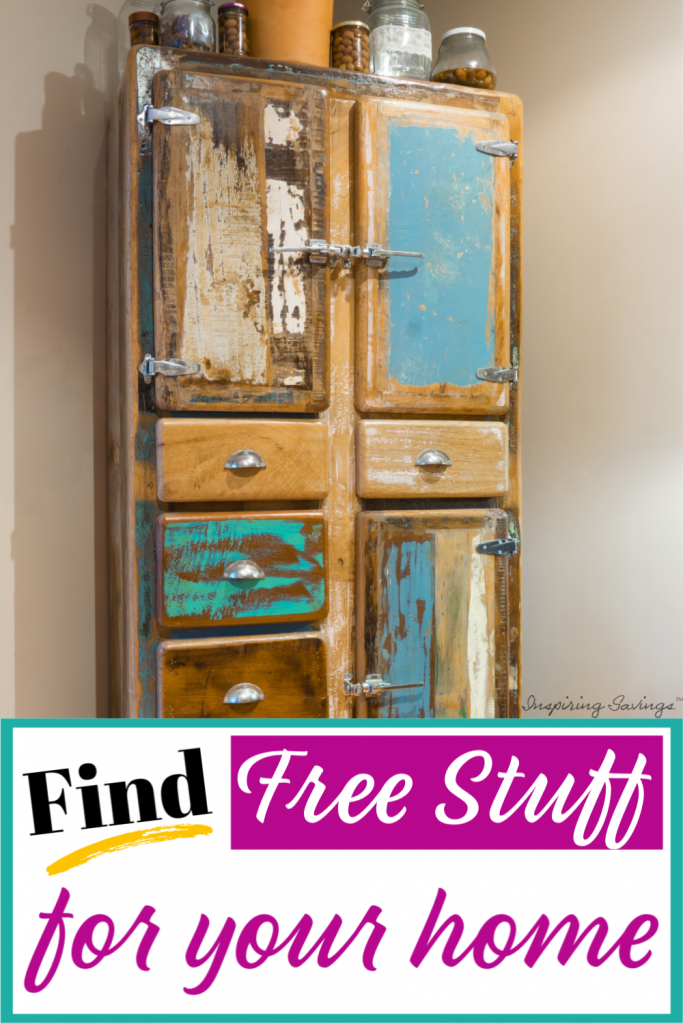 Find Free Stuff for your home