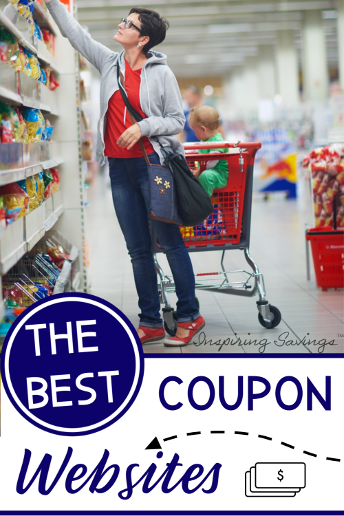Woman Shopping with Coupons - Couponing Websites