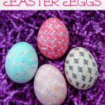Easter Eggs Silk Tie Dyed