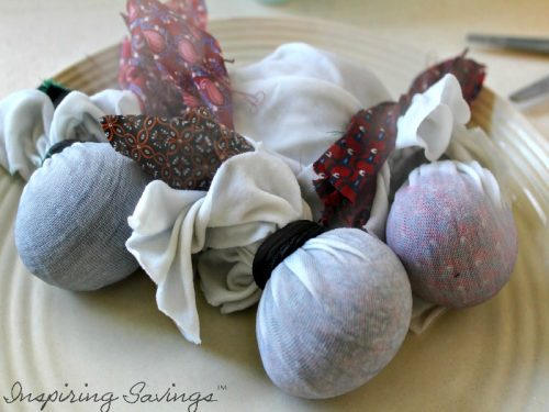 Silk tie dyed Easter eggs are so much fun to make and way less messy than buying a dying kit or using vinegar and food colouring! Make beautiful looking dyed Easter Eggs.