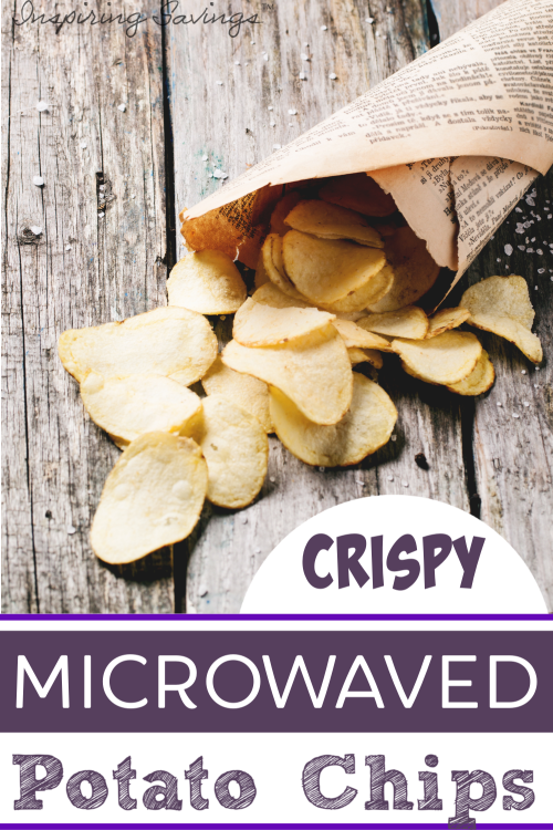 Crispy Microwaved Potato Chips