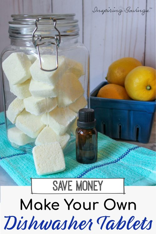 Save Money - Make Your Own Dishwasher Tablets