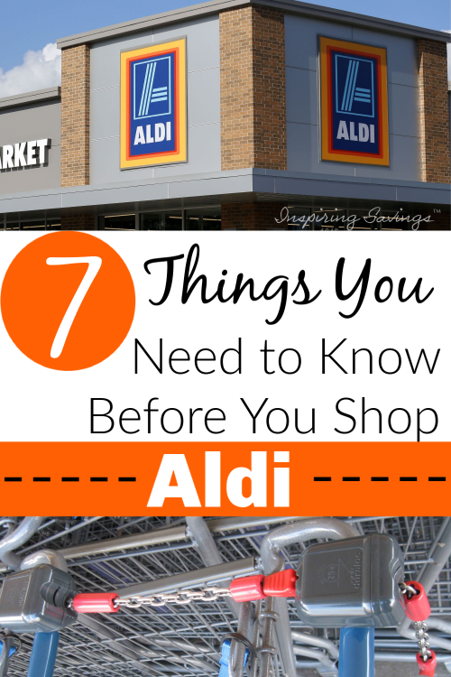 Aldi Store front - Things you need to know before you shop aldi