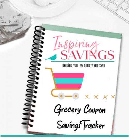 Grocery Savings Tracker Binder