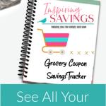 Inspiring Savings Grocery Coupon Savings Tracker