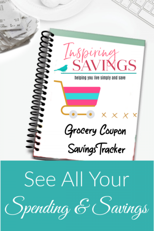 Grocery Savings Tracker Binder