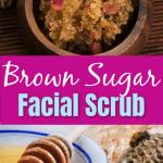 DIY All Natural Brown Sugar Facial Scrub 1