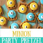 Minion Eyeball Pretzel snack