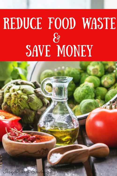 Healthy Food on table - reduce food waste