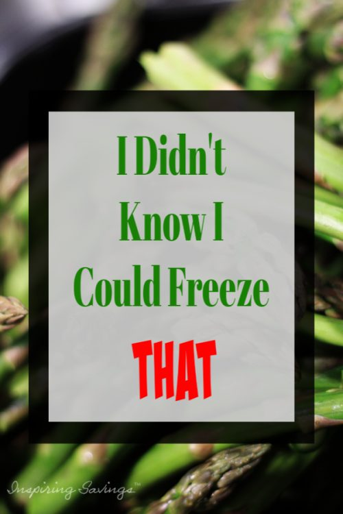 Have you ever wondered what food items you can freeze? More than you think. Start saving money on your household expenses. Save time in the kitchen by prepping ahead some of these grocery items by freezing them. Check out these 10 Grocery Items You Can Freeze
