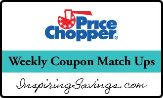 "Price Chopper store logo with text ""weekly coupon match ups"""